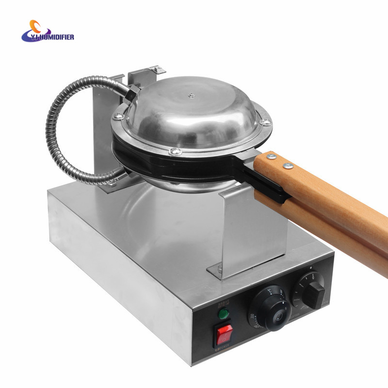 YJ HUMIDIFIE Best professional electric Chinese Hong Kong eggettes puff waffle iron maker machine bubble egg