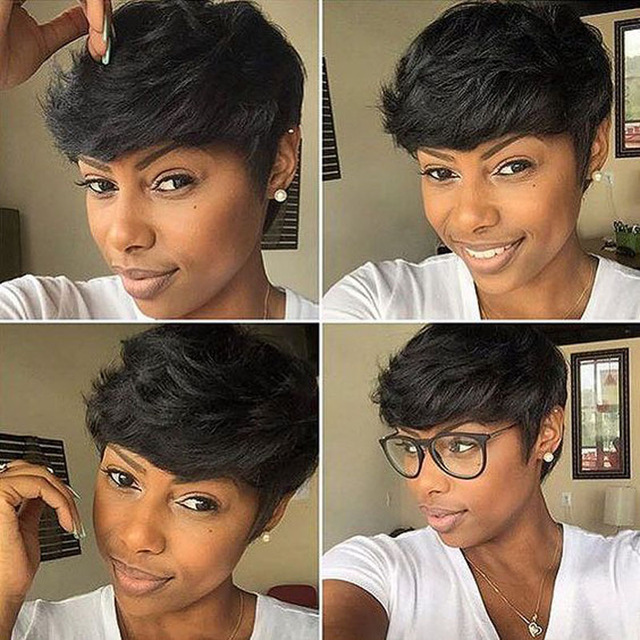 how to make a bump in short hair