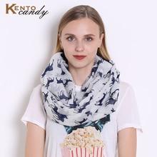 2017 new fashion Moose print infinity scarf Women for Christmas elk yarn hijab animal loop scarf