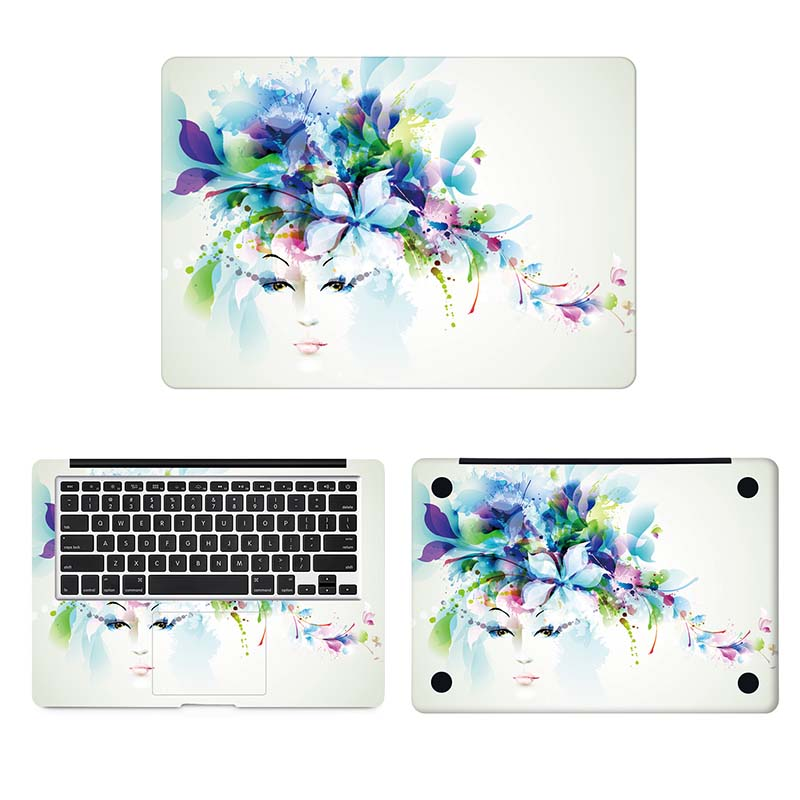 Flower Fairy Laptop Skin Sticker for font b Apple b font font b Macbook b font