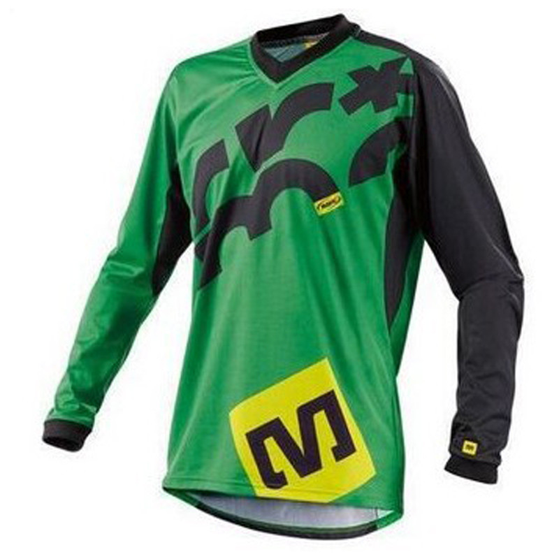 New MAVIC Downhill Jersey Mountain Bike Motorcycle Jersey Crossmax Shirt Ciclismo Clothes for Men MTB T Shirt K in Cycling Jerseys from Sports Entertainment