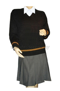 Free Shipping Gryffindor House Cosplay Skirt Uniform from Harry for Halloween and Christmas