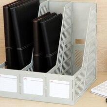 Многослойная стека может без вспышки Творческий офисном компьютере коробка для хранения файлов стойку коробка a4 папку Полки