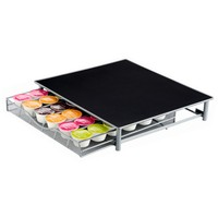Coffee Pod Holder Storage Drawer Coffee Capsules Organizer for 36pcs Dolce Gusto Capsules