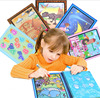 Baby Kids Recycling Magic Water Drawing Book Toys With Magic Pen Coloring Graffiti Painting Board Toys