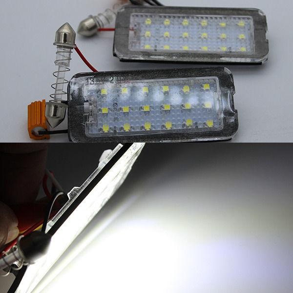 2x Error Free Canbus Led Number License Plate Lights