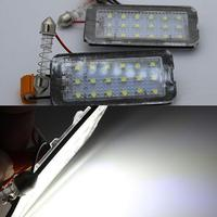 2x Error Free Canbus LED Number License # Plate lights Lamp for Fiat 500 500C