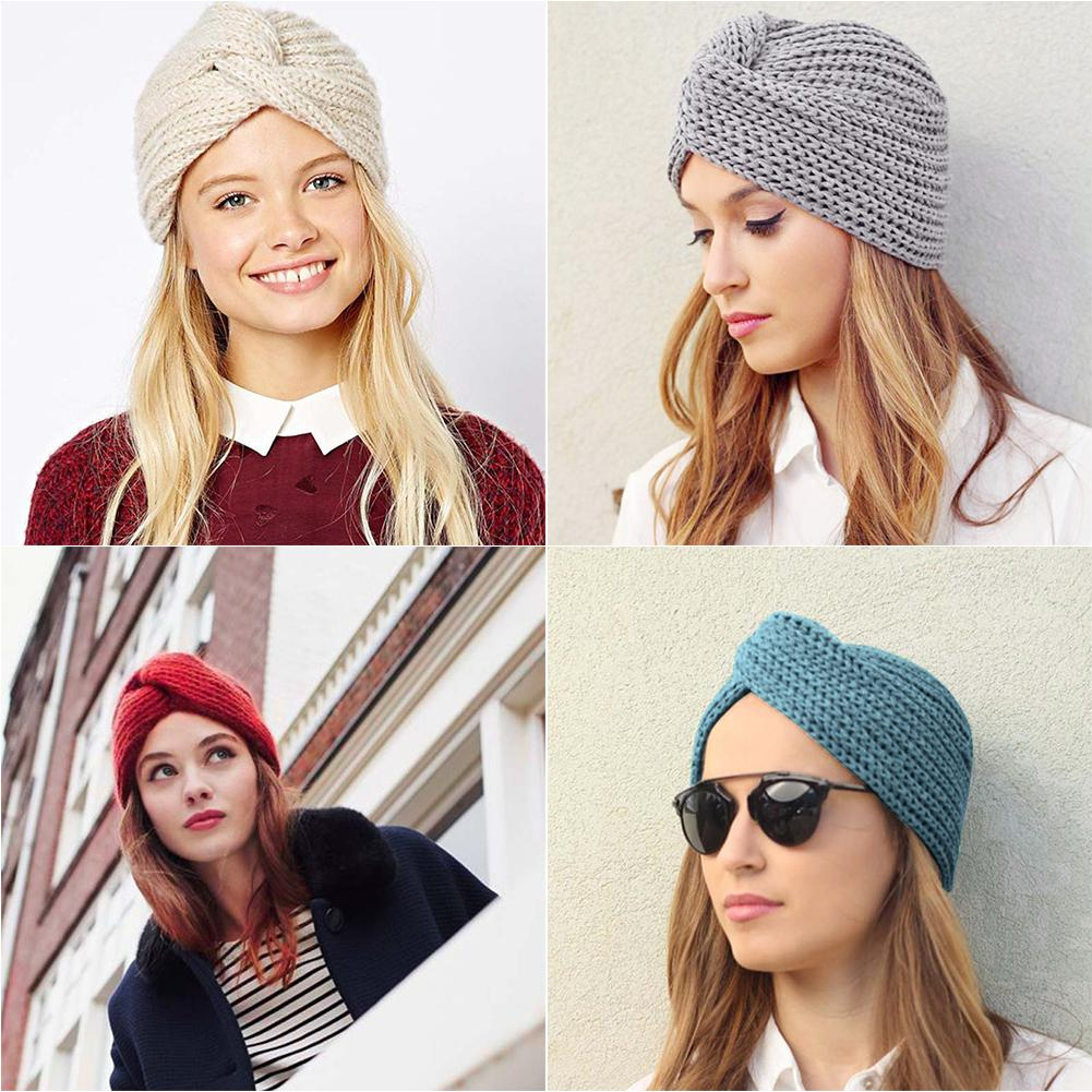 e27ee8239 Ins Hot Type Knitted Wool Cross-Twisted Cap Fashionable Winter War...