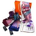 Nuevas Bufandas de Seda Pura Bufanda Cuadrada Mujeres Chales de Pashmina Bufandas Tippet Pañuelo Femenino Protector Solar Pashminas