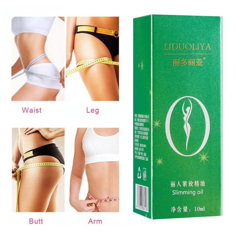 Potent Effect Lose Weight Essential Oils Thin Leg Waist Fat Burning Natural Safety Weight Loss Products Slimming Oil 10ml/Box