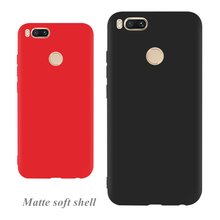 Perciron Matte Candy Silicone Case For Xiaomi A1 6 6X 5X MAX2 Soft TPU Cover Redmi 5A 5 plus 4A NOTE Phone Bag