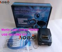 Martin Light Jockey USB 1024 DMX 512 DJ Controller For Led Stage Light Moving Head Lights