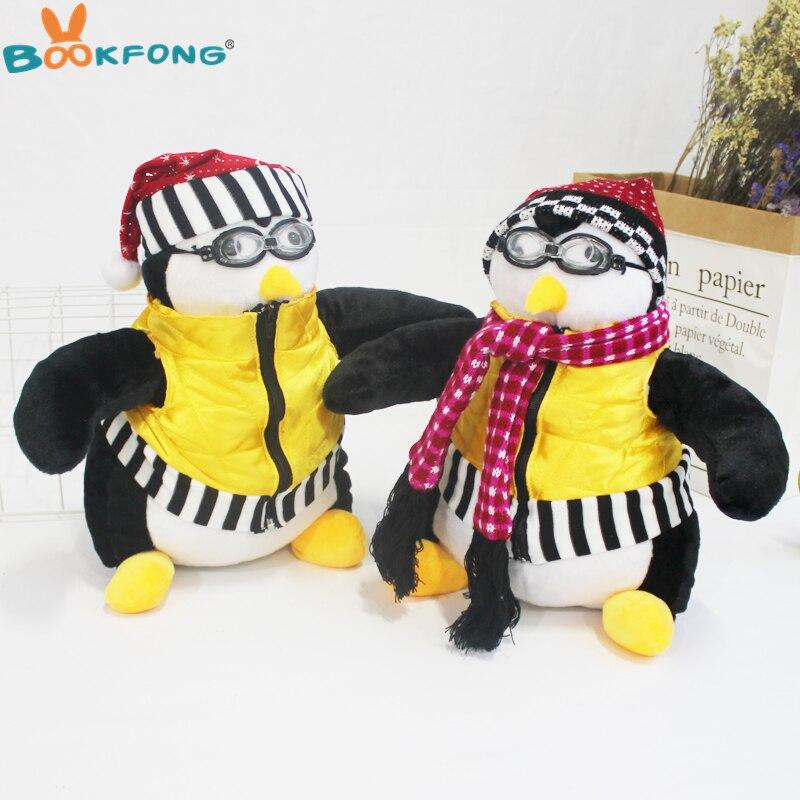 45 cm Ami de Joey Pingouin Hugsy Jouets En Peluche Mignon Rachel Pingouin En Peluche Animaux Poupée Jouets pour Enfants Anniversaire De Noël cadeau