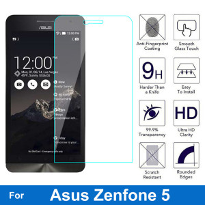 Explosion-proof Screen Protector 9H 0.26MM Thickness Tempered Glass For Asus Zenfone 5 zenfone5 A500CG A501CG Lite A502CG A500KL