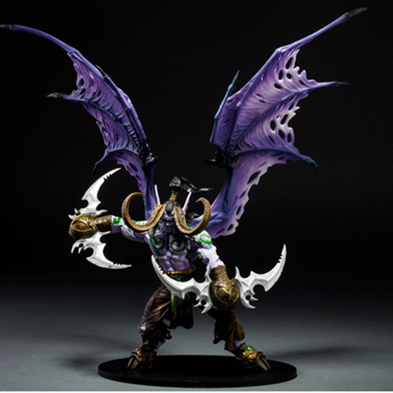 Hot Game WOW Demon Hunter Demon Form Figurine Figure illidan Stormrage Statue PVC ACTION Figure Resin Collection Model Toy Gifts 王秋石《微观经济学》习题集[microeconomics]
