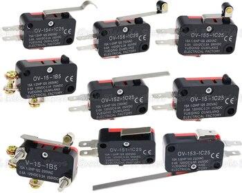 цена на V-151-1C25/V-152-1C25/V-153-1C25/V-154-1C25/V-155-1C25/V-156-1C25/V-15-1C25/V-15-1B5 Momentary Micro Limit Switch