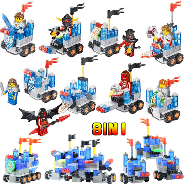 KNIGHTS Machine Mini Action Figures Clay Clay Macy Compatible LegoINGLYS Movie Series Blocks Bricks Educational Eraser Toys