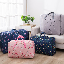 Portable Quilt Storage Bag Quality Thickened Oxford Creative Dust-proof Foldable Capacity Travel Clothing Wardrobe Organization