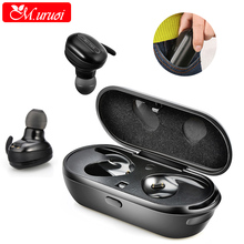 Buy M.uruoi Earpiece Blutooth TWS True Earphone Binaural Microphones Ear Buds Casque Bluetooth For Car Headset Handfree Kulakl k