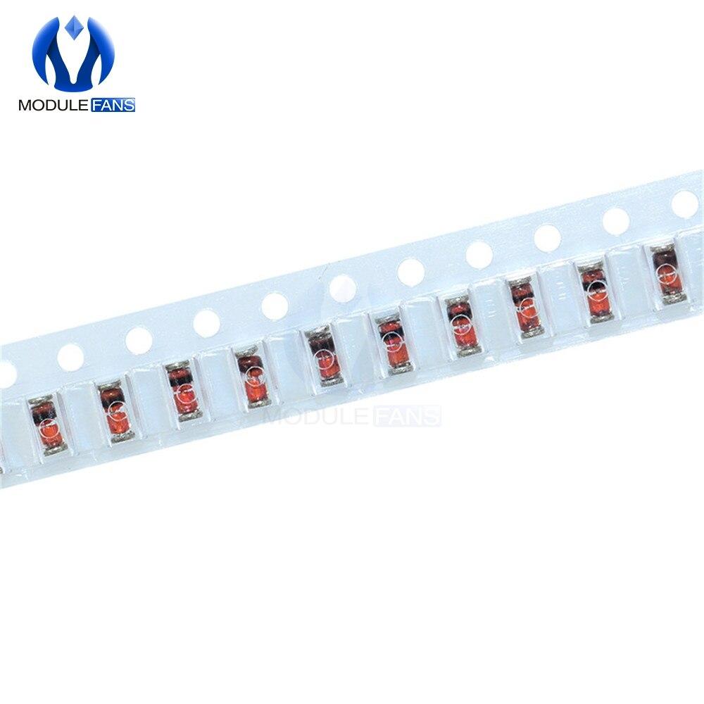 200 Uds original SMD 1N4148 LL4148 interruptor 4148 diodo de conmutación LL34-speed diodo conmutador bricolaje electrónica