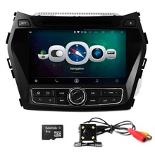 "7""  Android 4.4 Car DVD Player for HYUNDAI IX45 2013 3G iPod Audio Input Bluetooth SWC Touch Screen GPS Navigation"