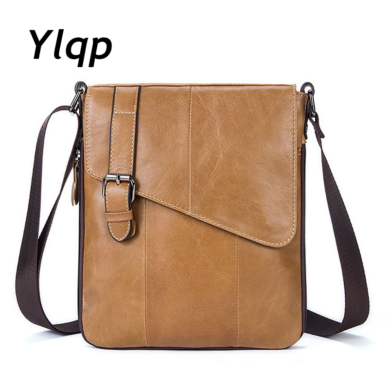 New Male Genuine Leather Bag Men Messenger Bags Men's Briefcase Designer Business Handbags High Quality Shoulder Bags Cross Body 2015 special offer bolsas designer handbags high quality korean manufacturers selling new are cross printed student bag cheap