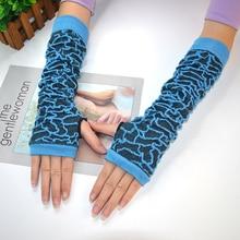 Blue Spider Woman Солнцезащитный крем Обогреватели для рук с длинным рукавом Хлопок UV Guantelete