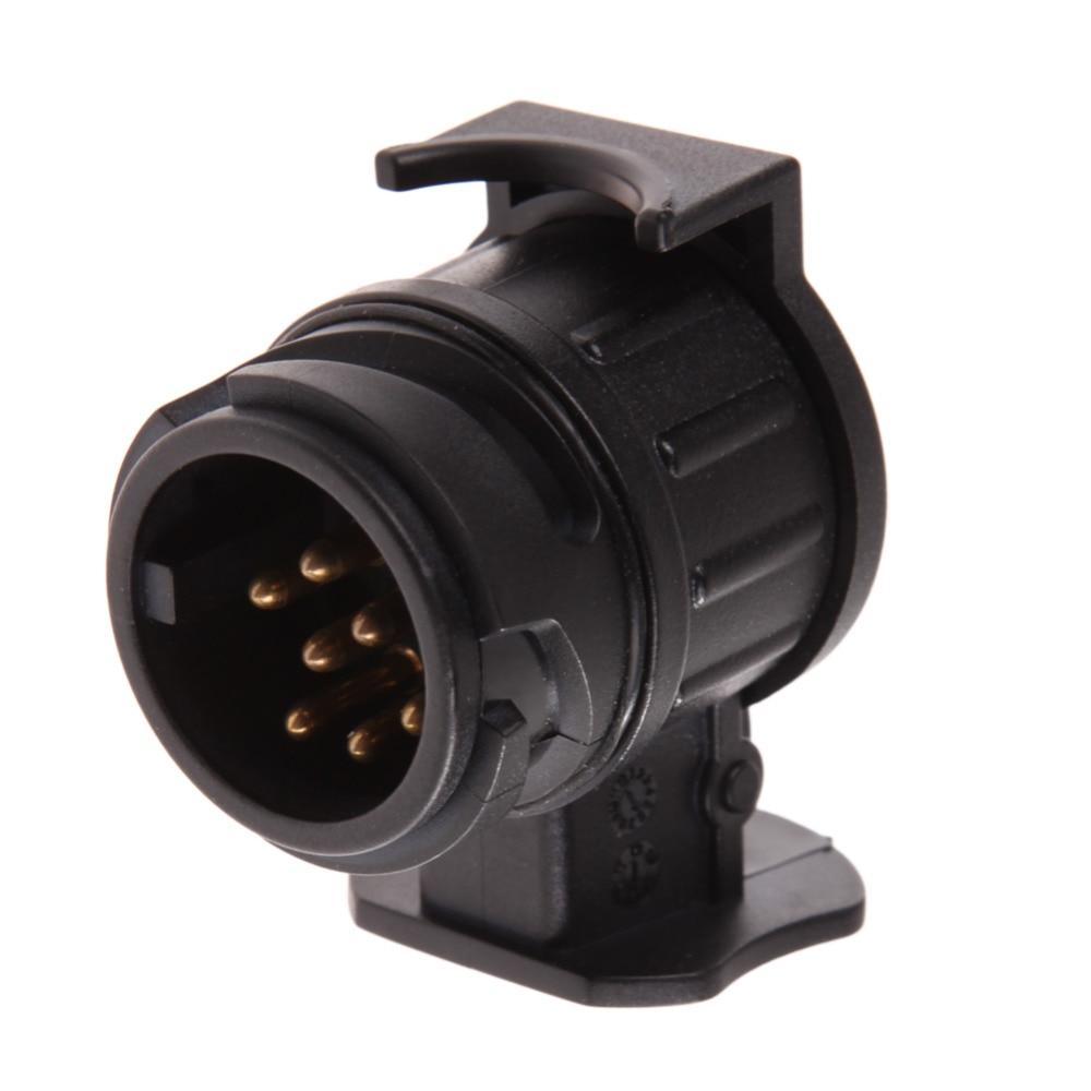 7 Pin Flat Caravan Wiring Diagram 12v 13 To 7 Pins Plug Trailer Connector Adapter Converter