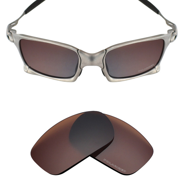 a7957b189e Mryok+ POLARIZED Resist SeaWater Replacement Lenses for Oakley X Squared  X-Metal Sunglasses Bronze Brown