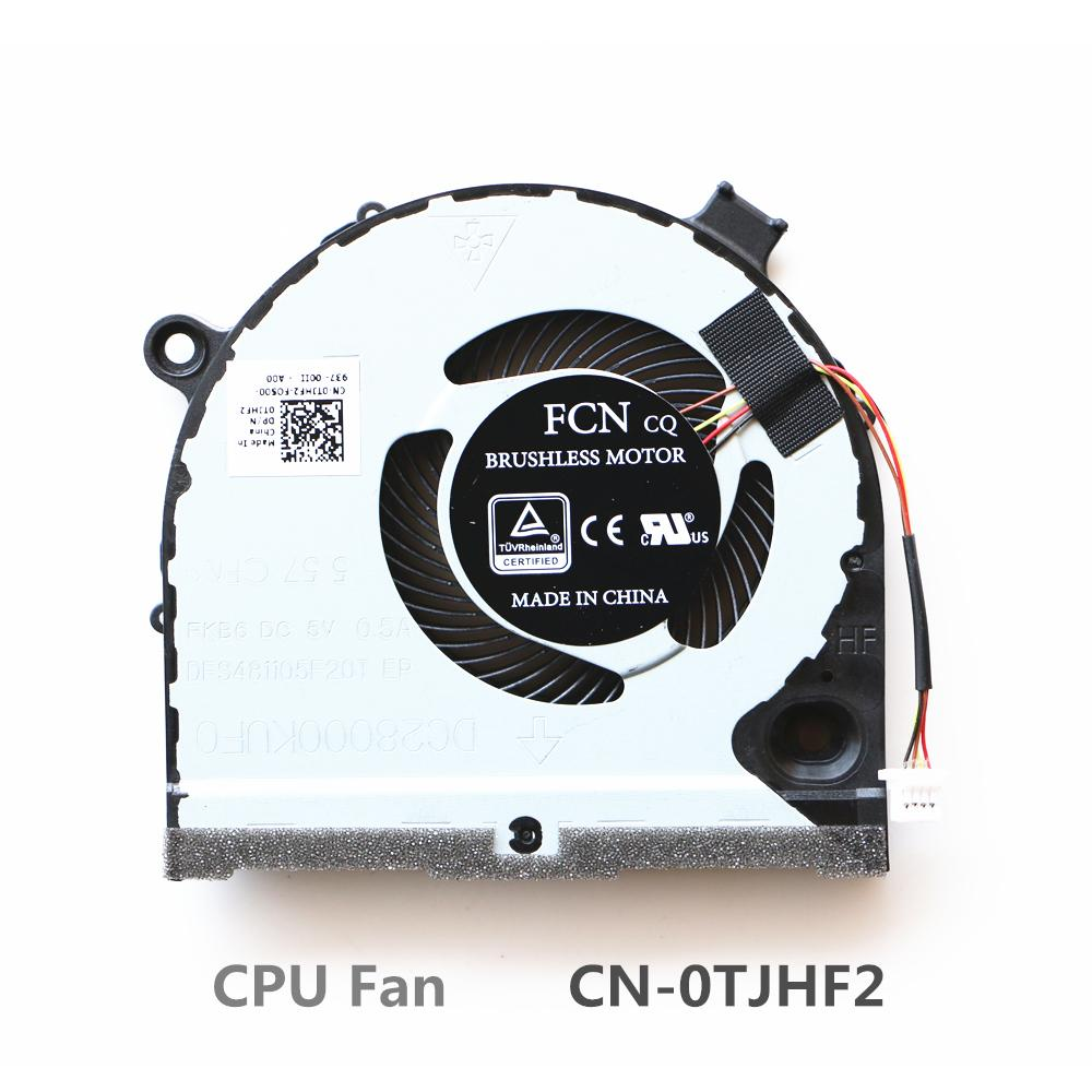 Laptop Replacement Cooler Fan For Dell G3-3579 G5-5587 Cpu Cooling Fan  CN-0TJHF2 CN-0GWMFV FCN DFS481105F20T FKB6