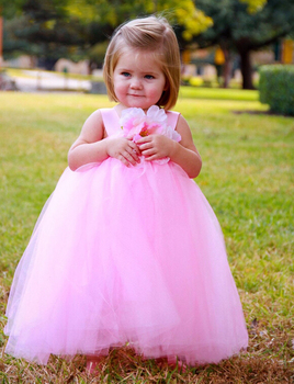 New Arrival Flower Girl Dresses with Flower High Quality Ball Party Pageant Communion Girls Kids Dress for Birthday Wedding цена 2017