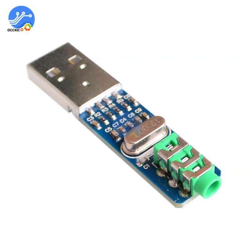 USB PCM2704 オーディオサウンドカードの Dac デコーダモジュール 5 12V ハイファイスピーカーサウンドボード Arduino のラズベリーパイ 16 ビット