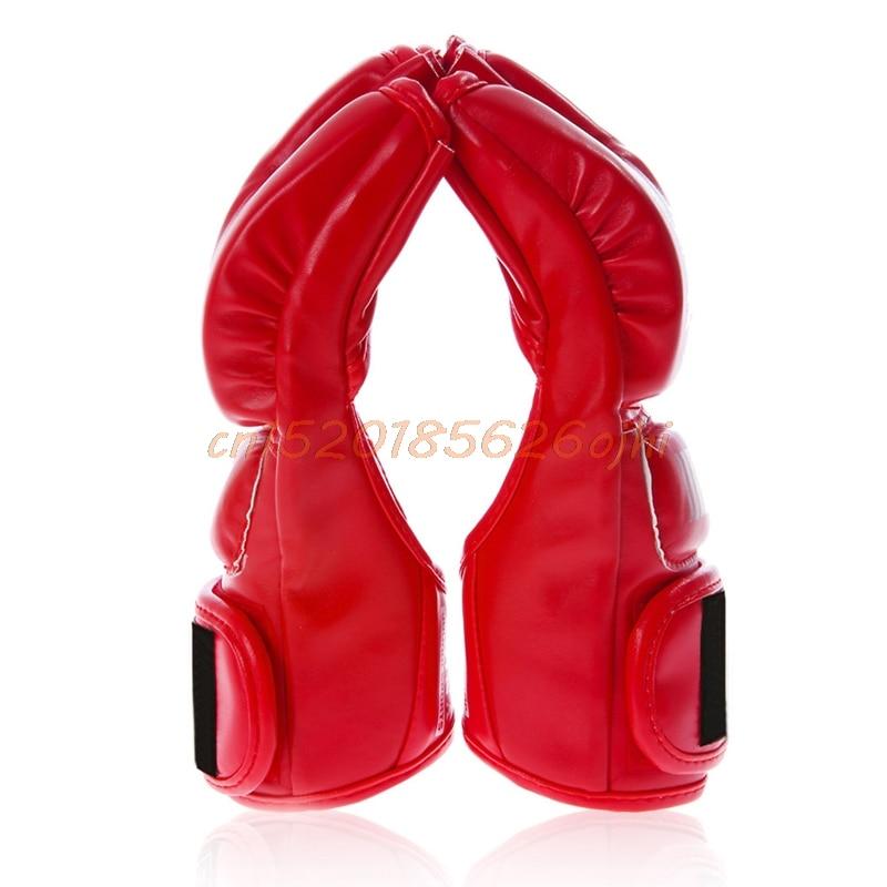 Boxing Half Finger MMA Muay Thai Training Sanda font b Gloves b font Gym Punching Bag