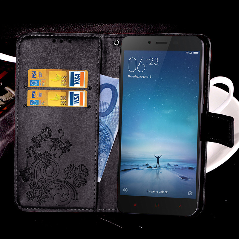 PU Leather Case For Xiaomi Redmi Note 2 Prime Phone Flip Wallet Stand Style Back Cover Cases In From Cellphones