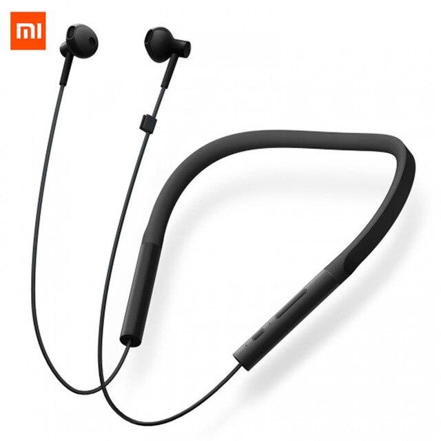 Original Xiaomi Collar Bluetooth Headset Youth Version 2018 New Neckband Sports Earphone Fast