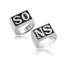 Knuckles set/pair sons anarchy anel biker pieces movie punk one price