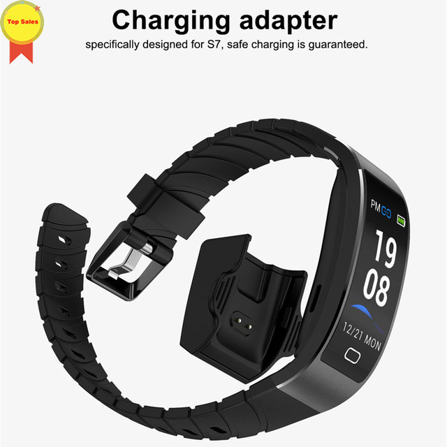 2019 nouveau produit GPS Bracelet intelligent professionnel IP68 étanche Fitness Bracelet dynamique fréquence cardiaque bande intelligente Tracker montre