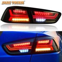 Автомобильный Стайлинг светодиодный фонарь в сборе для Mitsubishi Lancer EX 2009 ~ 2016 светодиодный задний фонарь DRL + тормоз + Парк + сигнал