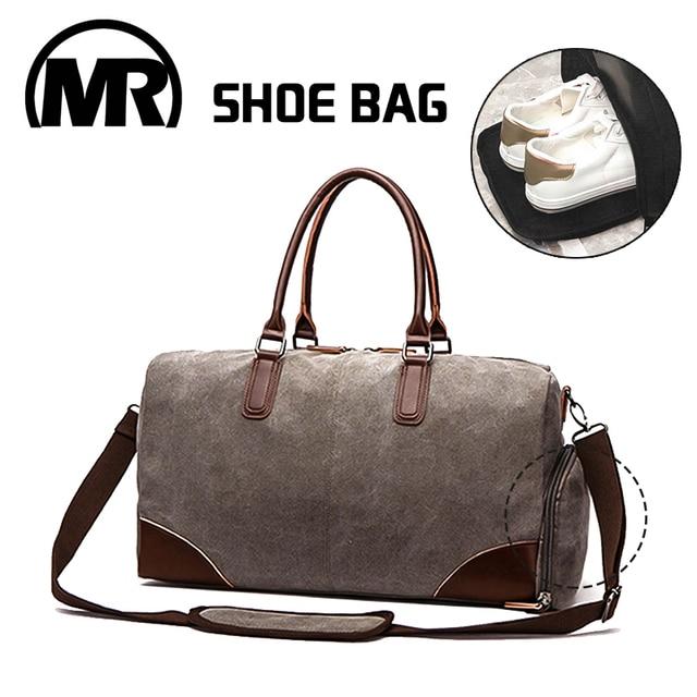 MARKROYAL холщовая дорожная сумка в европейском и американском стиле, сумка для фитнеса склад обув