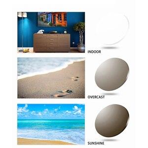 Image 5 - 1.56 1.61 1.67 ブルーレイ防止光変色cr 39树脂非球面レンズ、近視サングラスレンズ