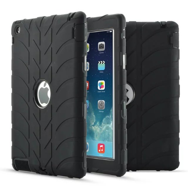 New fashion child Tablte shockproof case For iPad 2 ipad 3 ipad 4 9.7 Protective Cover Silicone Thick Armor Hybrid Rugged Shock pannovo waterproof pu leather extra thick anti shock eva case for gopro hero 4 3 3 2 sj4000