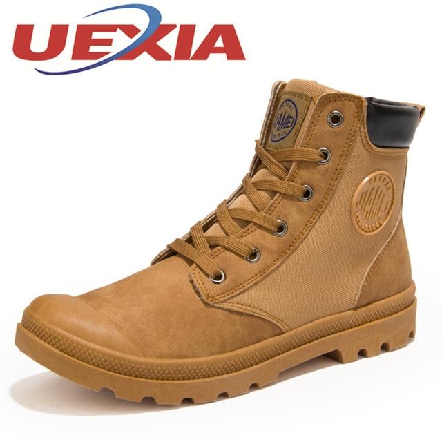 ee747ac855 Primavera Para Hombre Zapatos de Trabajo Ocasionales de Otoño en Forma de  Bota Zapatos Botines Para