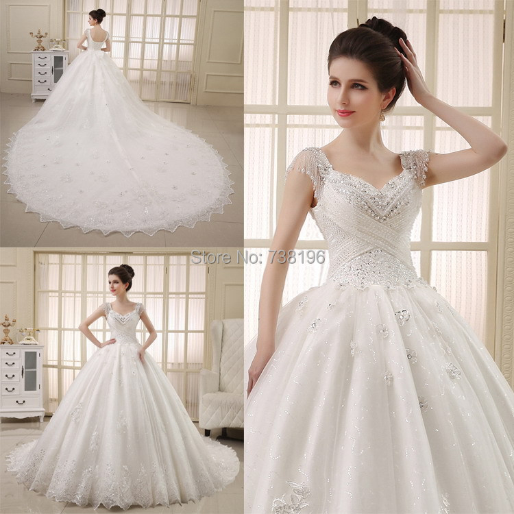 Wedding gowns latest designs family clothes for Design wedding dress online