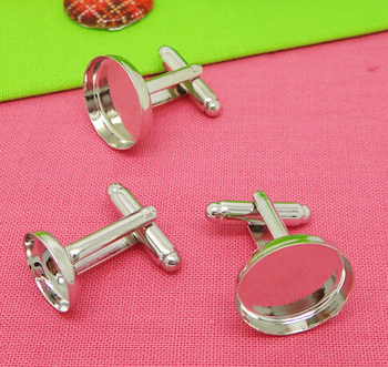 French Cufflinks Backs,/Cufflink Blanks/Cufflink Findings Fit 12mm Cabochons