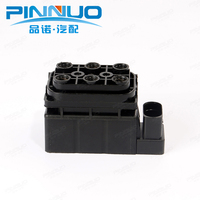 Air Compressor Pump Valve Block For Audi Q7 Tourareg Cayenne Air Suspension Air Supply Solenoid 7L0698014