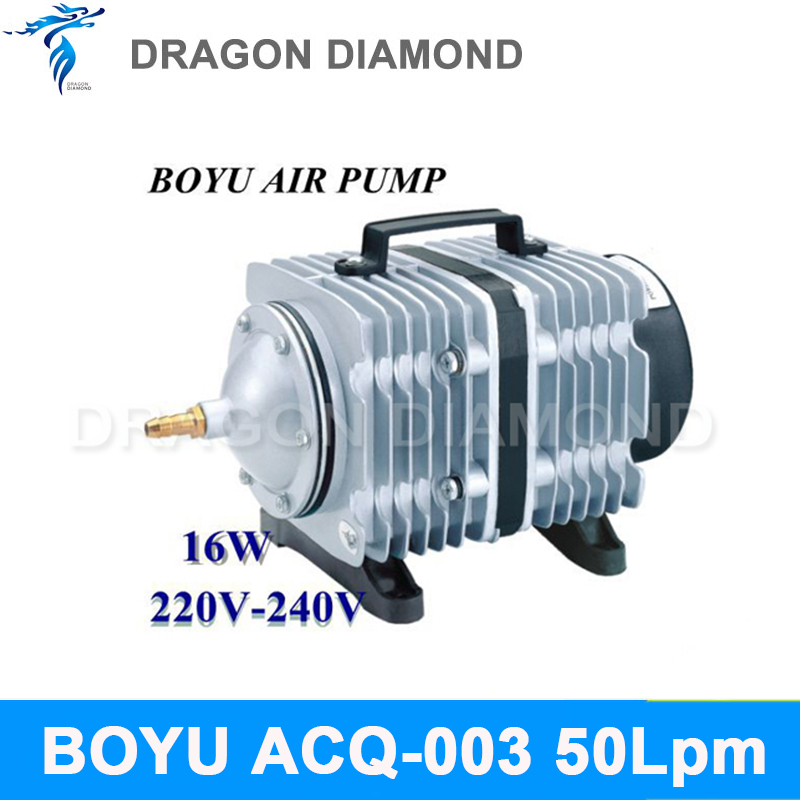 New BOYU ACQ-003 50Lpm Air Pumps Compressor AC 220-240V