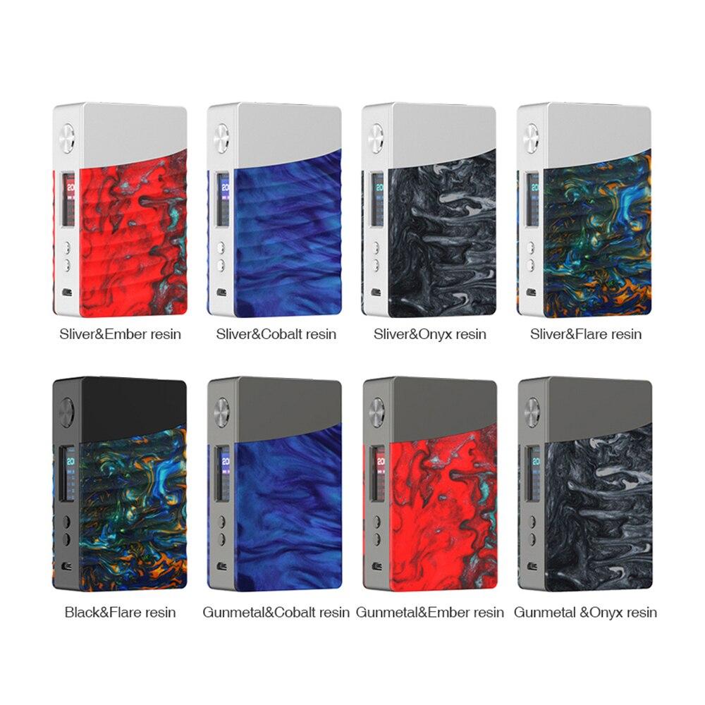 Grande vente Date d'origine Geekvape Nouvelle boîte mod 200 w alimenté par double 18650 batterie AS200 puce pour sirène v2 réservoir vs voopoo glisser