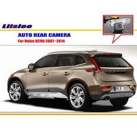 Cámara de Visión Trasera Para Volvo XC90 Liislee 2003 ~ 2014/Copia de seguridad Parque cámara/CCD HD RCA NTST PAL/Luz de la Matrícula del OEM