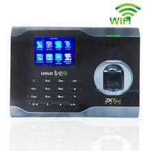 Vingerafdruk Tijdregistratie WIFI Tijd Aattendance Systeem met ZMM220 Hardware Platform Draadloze Aanwezigheid U160 Gratis Software