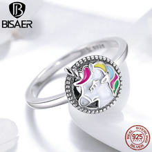 BISAER Real 925 Sterling Silver Unicorn (China)